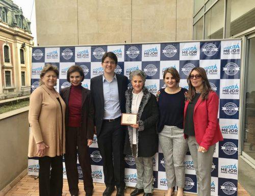 Fundación Menorah premiada por la Secretaría de Gobierno
